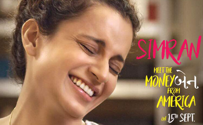 Simran First Poster And Teaser: Kangana Is A Pure Delight To Watch