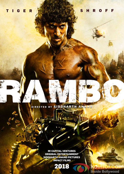 Rambo's 1st Look | Tiger Shroff In Action Mode