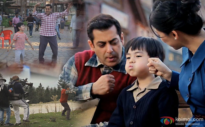 Check out Tubelight's Teaser Making Of Video