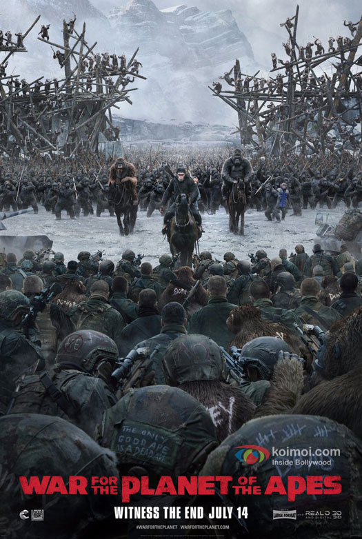 War for the Planet of the Apes have released the new poster as well as the final trailer of the film