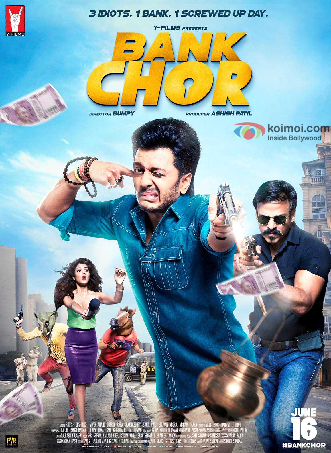 Watch The Official Trailer Of Bank Chor | Ft.Riteish Deshmukh and Vivek Oberoi