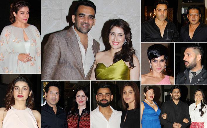 Zaheer Khan & Sagarika Ghatge's Glamorous Engagement Ceremony