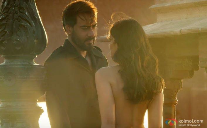 Ajay and Ileana D'Cruz's Passionate Lovemaking Scene