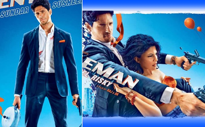 First Look Of Sidharth & Fernandez From A Gentleman Is Too Badass