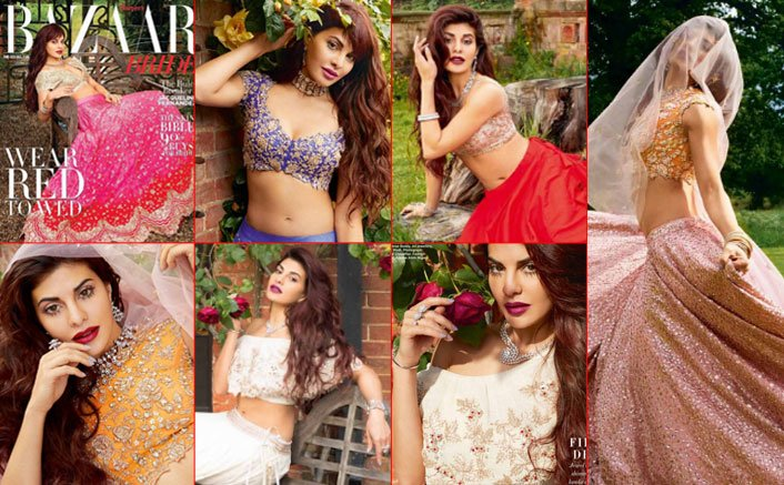 Jacqueline Fernandez Turns A Picture-Perfect Bride For A Shoot