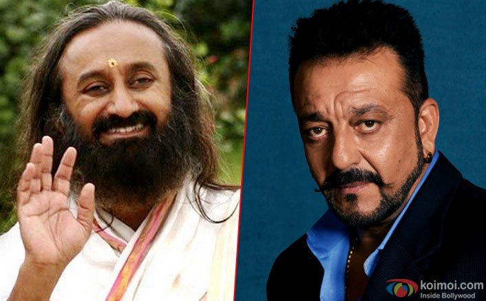 Sanjay Dutt on a big mission to make this country drug free says, Shri Shri Ravi Shankar.