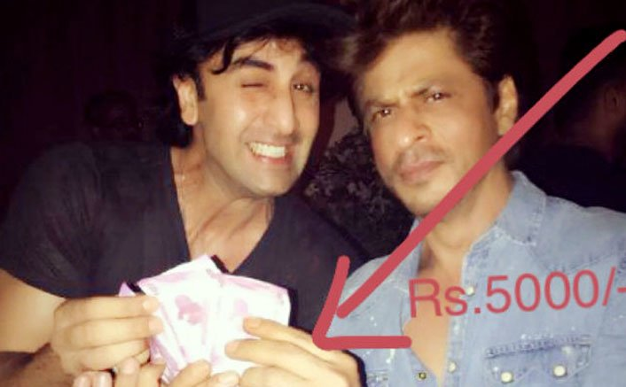 Here Is Why Shah Rukh Khan Paid Ranbir Kapoor Rs 5000!