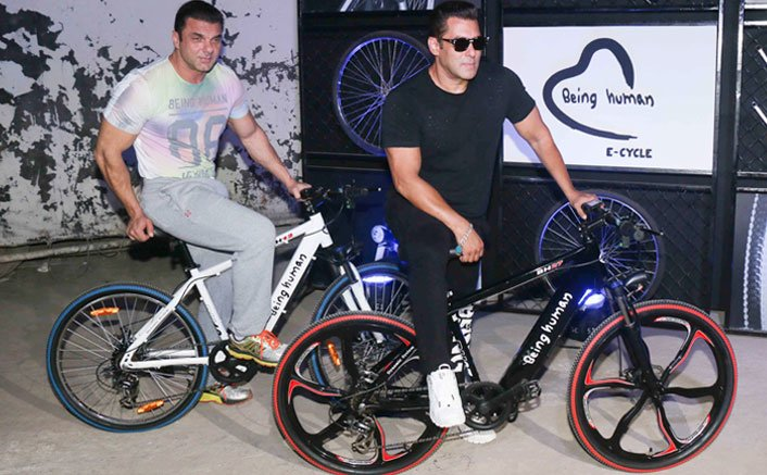 The Khan Brothers Launched E-Cycles Under Being Human Brand