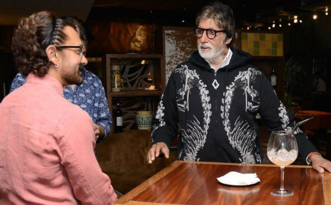 Amitabh Bachchan And Aamir Khan