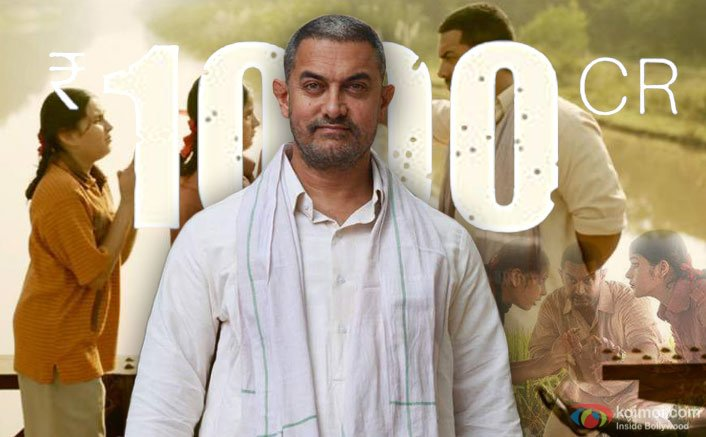 Aamir's 'Dangal' creates history, earns over Rs 1,000 crore in China