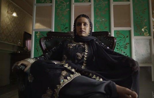 Shraddha Kapoor in and as Haseena Parkar