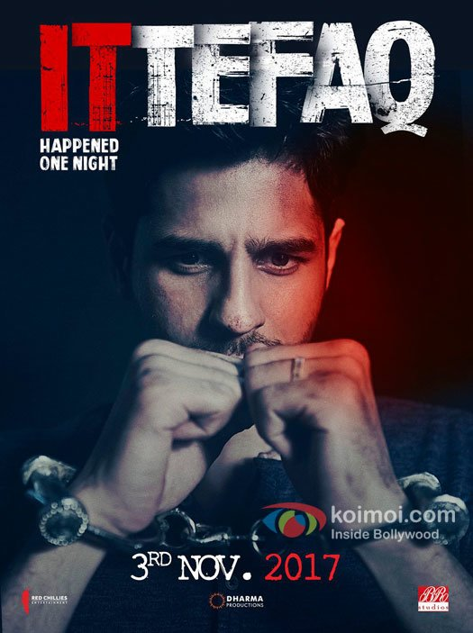 It Happened One Night: Sidharth Malhotra's Look In Ittefaq Remake Is Out