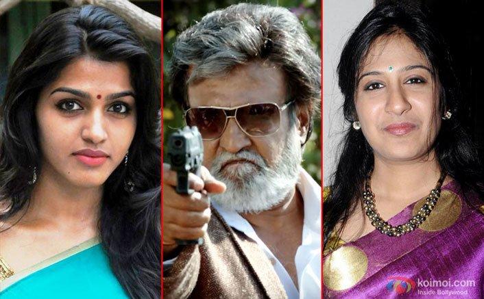 Superstar Rajinikanth, Dhansikaa & Shweta Mohan