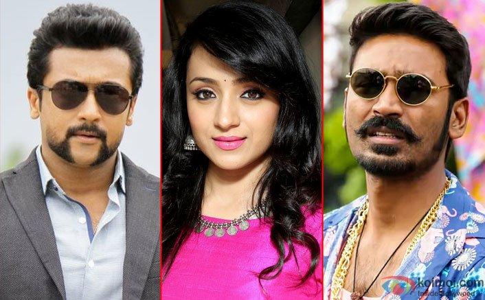 Suriya, Trisha & Dhanush