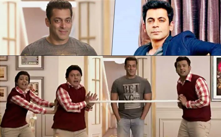 OMG! Salman Khan To Promote Tubelight With Sunil Grover Not Kapil Sharma