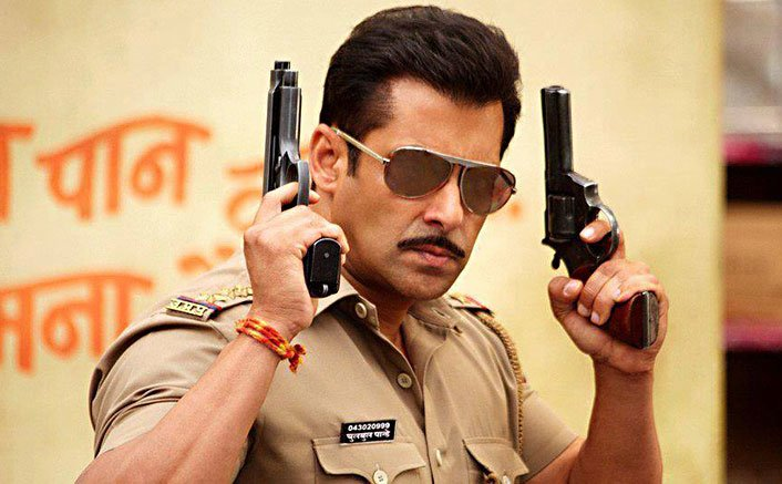 Dabangg Salman Khan's look from Dabangg and Dabangg 2