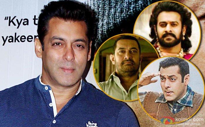 Salman Khan On Tubelight Breaking Dangal & Baahubali's Records