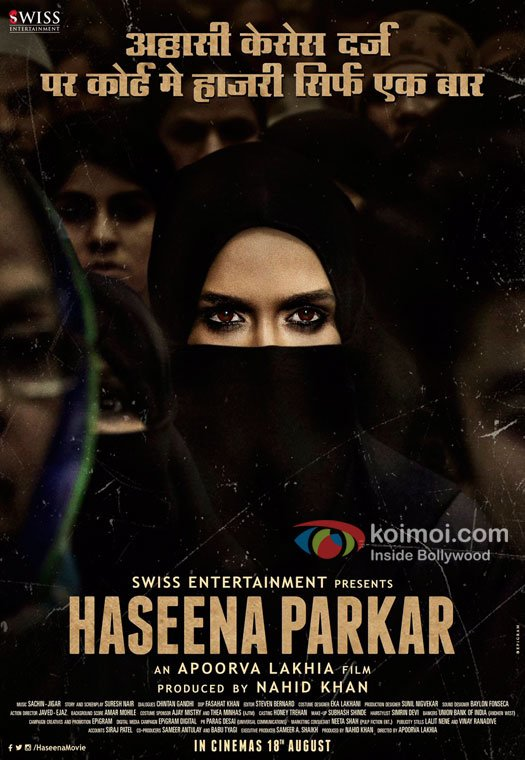 Haseena Teaser Poster | Shraddha Kapoor Is Behind The Veil With Intense Eyes