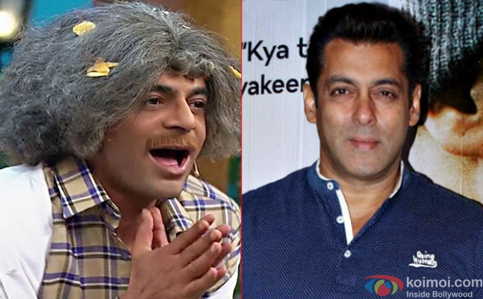 Salman Khan Praises Sunil Grover, Says He Feels Incompetent In Front Of Him