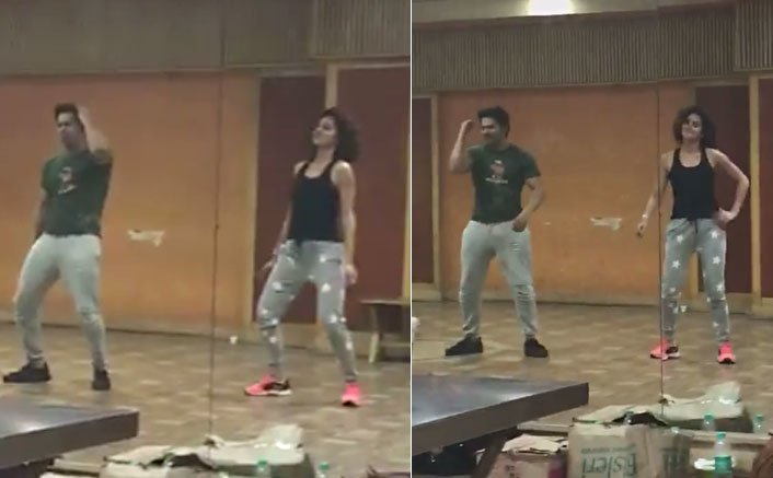 Taapsee Pannu shakes a leg with Varun on Tan Tana Tan in this video!
