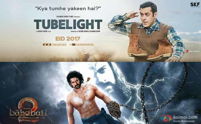 Will Tubelight Beat the Highest Weekend Record of Baahubali 2?