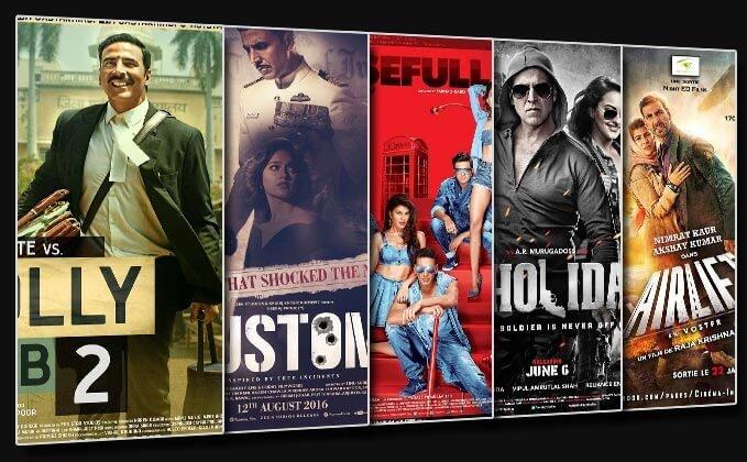 Akshay Kumar's Top 5 Grossers In Last 4 Years