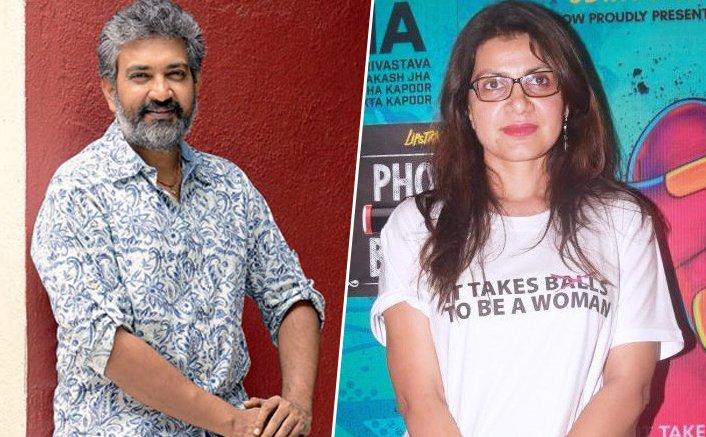S S Rajamouli and Alankrita Srivastava