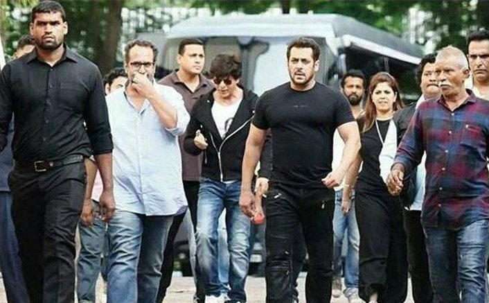 Salman Khan-Shah Rukh Khan begin shooting for Aanand L Rai's next