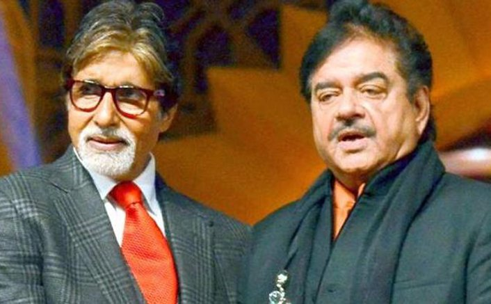 When Shatrughan Sinha commented on Amitabh Bachchan