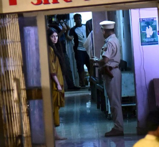 Anushka Sharma's Mysterious Look Leaked From The Sets Of Pari