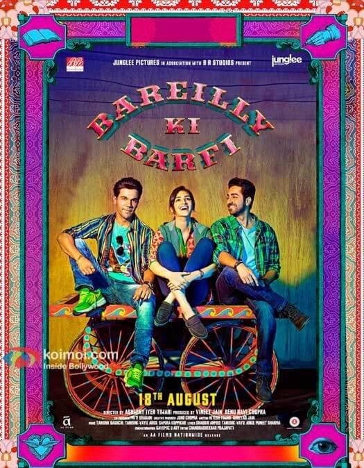 Bareily Ki Barfi New Poster | Kriti, Rajkummar & Ayushmann On A Hand-Cart