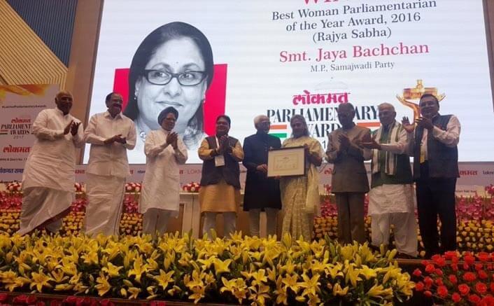 Big B 'proud' of wife Jaya's achievement
