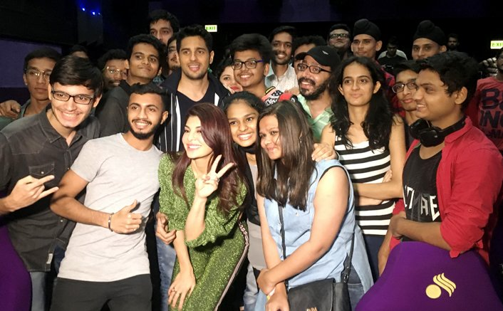 Fans get a chance to see the A Gentleman - Sundar, Susheel, Risky trailer before the world with Sidharth and Jacqueline!