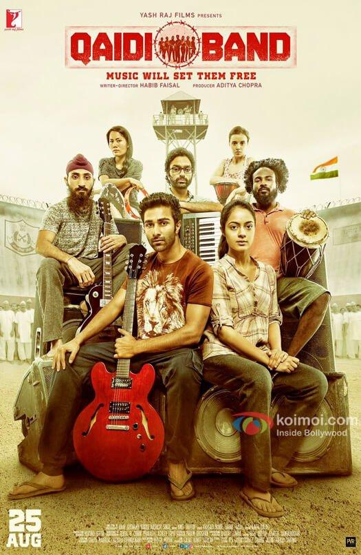 First Look Of Aadar Jain & Anya Singh starrer Qaidi Band is OUT!