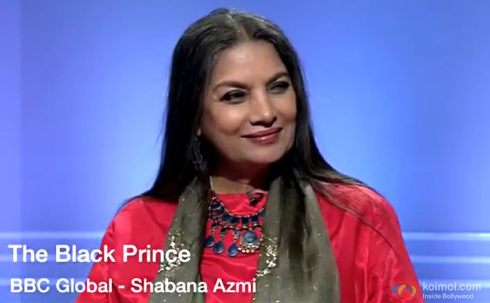 Shabana Azmi Talks About Her Upcoming Hollywood Film - The Black Prince