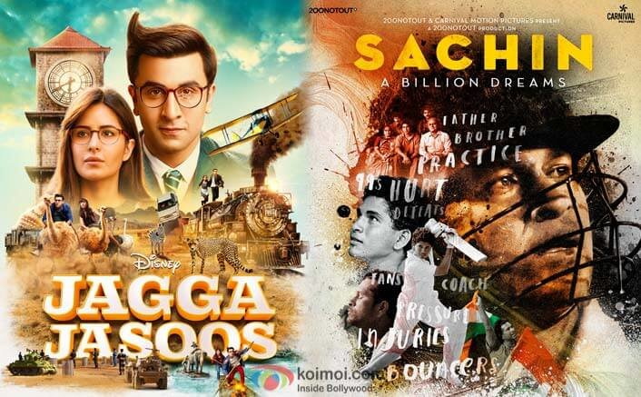 Jagga Jasoos Climbs Up The Top 10 Highest Grossers At The Box Office