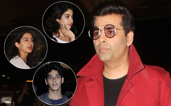 Karan Johar: I am not confirming the rumours of launching Jhanvi Kapoor, Sara Ali Khan or Ishaan Khattar