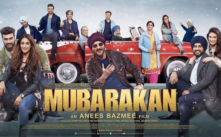 Guess Who Are A Part Of The Big Mubarakan Family? Check Out This Poster!