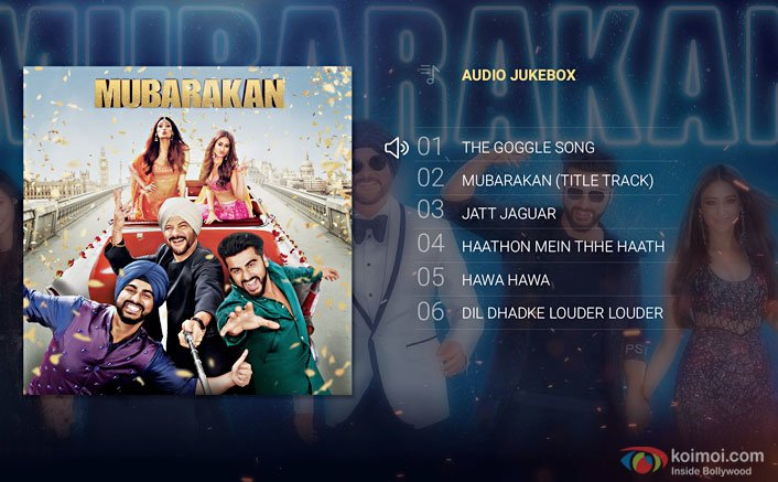 Check Out the Complete Audio Jukebox of the star-studded movie Mubarakan