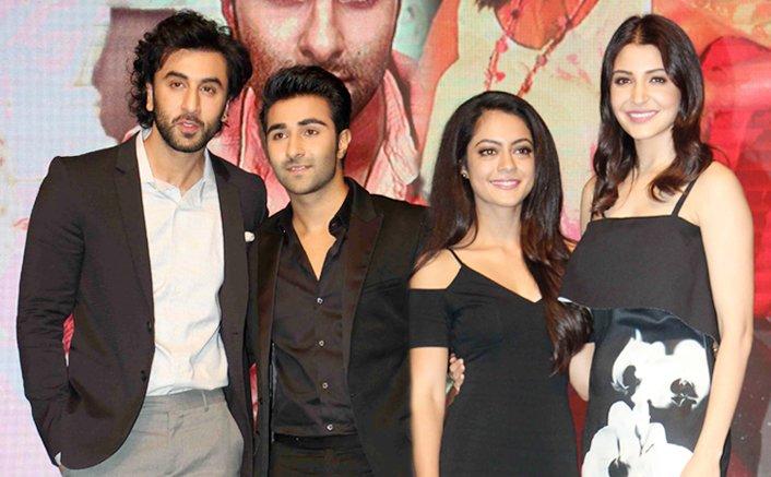 Pics! Anushka & Ranbir Launch New Faces Of YRF Aadar Jain & Anaya Singh