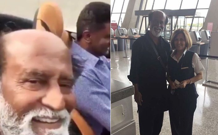 Rajinikanth's selfie video goes viral