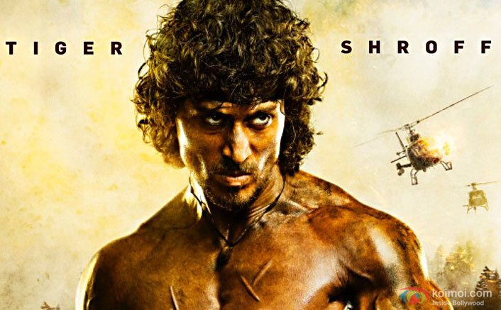 Tiger Shroff in a still from Rambo