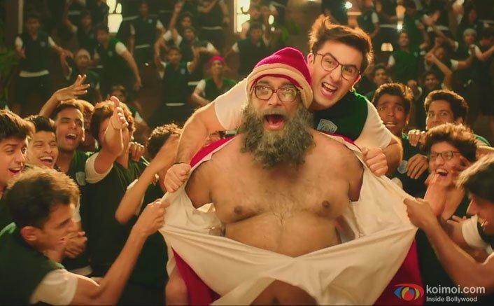 Anurag Basu and Ranbir Kapoor in a still from Jagga Jasoos