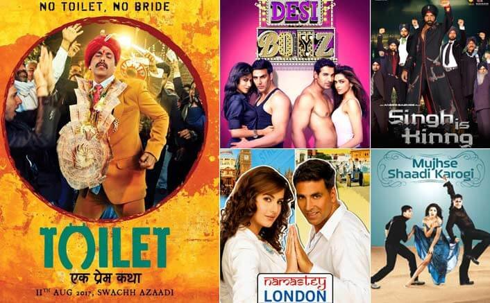 5 of Akshay Kumar's best romantic comedies!
