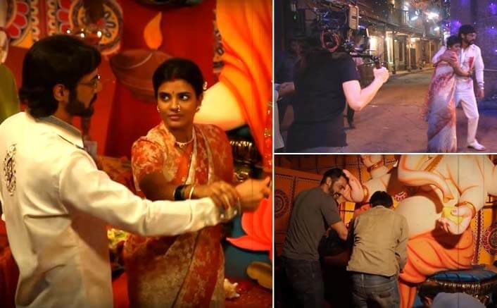 Watch the making of Aala re Aala Ganesha from Arjun Rampal's 'Daddy'