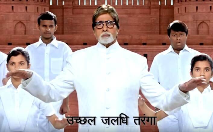 Amitabh Bachchan Stars In This Special Version Of National Anthem