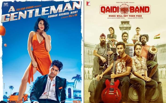 Box Office - A Gentleman and Qaidi Band - Weekend updates