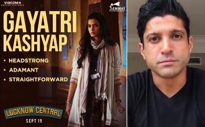 Farhan introduces us to his 'Lucknow Central' co star, Diana Penty aka Gayatri Kashyap!
