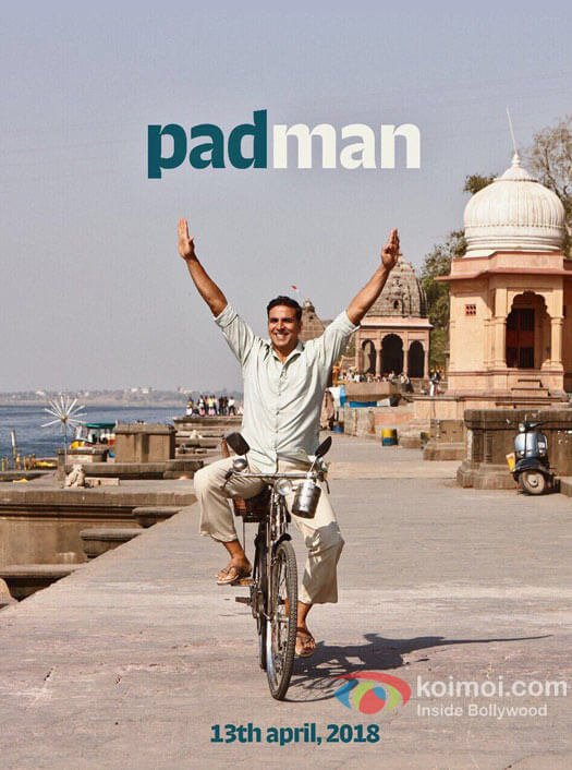 Akshay Kumar's Padman Poster Is Out With A Release Date
