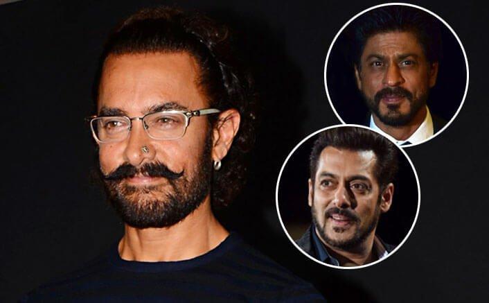 I don't compare my work with SRK, Salman, says Aamir Khan